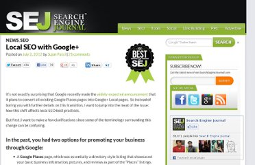 http://www.searchenginejournal.com/local-seo-with-google/45404/