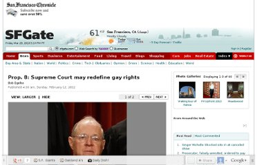 http://www.sfgate.com/politics/article/Prop-8-Supreme-Court-may-redefine-gay-rights-3305899.php