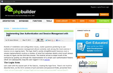 http://www.phpbuilder.com/columns/user-authentication/Jason_Gilmore05172011.php3