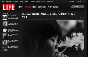 http://life.time.com/culture/japanese-youth-in-revolt-1964/#1