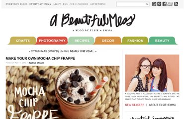 http://www.abeautifulmess.com/2012/05/make-your-own-mocha-chip-frappe.html