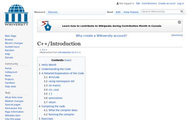 http://en.wikiversity.org/wiki/Introduction_to_C++