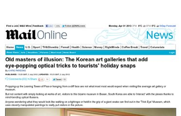 http://www.dailymail.co.uk/news/article-2167648/The-Korean-art-galleries-add-eye-popping-optical-tricks-tourists-holiday-snaps.html