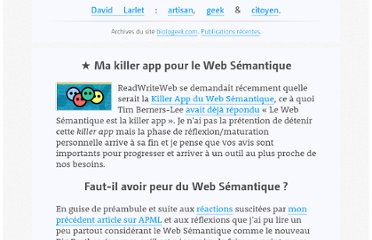 https://larlet.fr/david/biologeek/archives/20080112-ma-killer-app-pour-le-web-semantique/