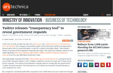 http://arstechnica.com/business/2012/07/twitter-releases-transparency-tool-to-reveal-government-requests/