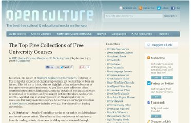 http://www.openculture.com/2008/09/the_top_five_open_course_collections.html