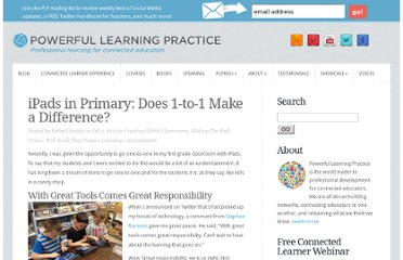 http://plpnetwork.com/2012/07/02/ipads-primary-1-to-1-difference/
