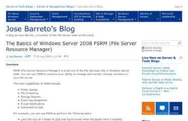 http://blogs.technet.com/b/josebda/archive/2008/08/20/the-basics-of-windows-server-2008-fsrm-file-server-resource-manager.aspx