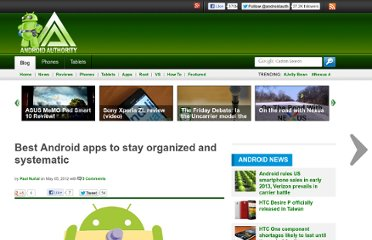 http://www.androidauthority.com/best-android-apps-stay-organized-organizing-planning-81573/
