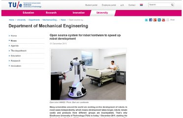 http://www.tue.nl/en/university/departments/mechanical-engineering/news/open-source-system-for-robot-hardware-to-speed-up-robot-development/