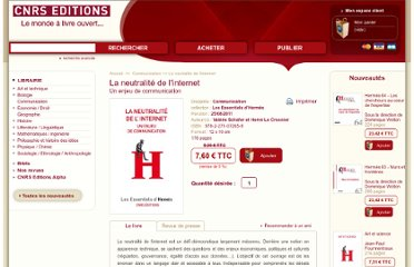 http://www.cnrseditions.fr/Communication/6450-la-neutralite-de-l-internet-valerie-schafer-et-herve-le-crosnier.html