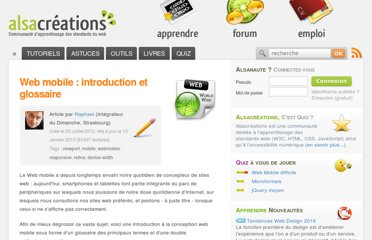 http://www.alsacreations.com/article/lire/1464-web-mobile-introduction-et-glossaire.html