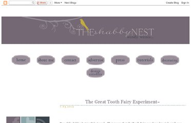 http://shabbynest.blogspot.com/2012/07/great-tooth-fairy-experiment.html