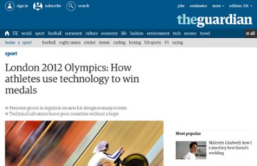 http://www.guardian.co.uk/sport/2012/jul/04/london-2012-olympic-games-sport-technology