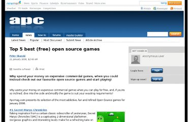 http://apcmag.com/top_5_best_free_open_source_games.htm