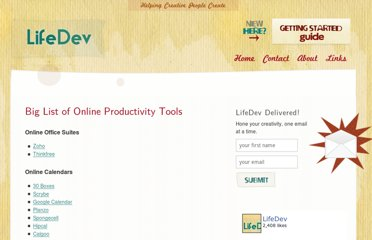 http://lifedev.net/big-list-of-online-productivity-tools/