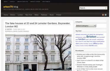 http://www.urban75.org/blog/the-fake-houses-at-23-and-24-leinster-gardens-bayswater-london-w2/