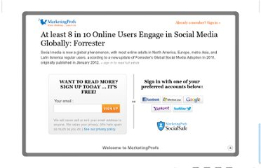 http://www.marketingprofs.com/charts/2012/8363/at-least-8-in-10-online-users-engage-in-social-media-globally-forrester