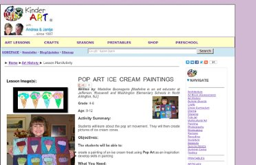 http://www.kinderart.com/arthistory/poparticecream.shtml