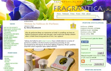 http://www.fragrantica.com/news/Miriam-by-Tableau-de-Parfums-2590.html