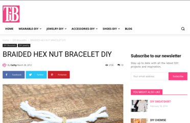 http://www.trinketsinbloom.com/wearable-diy/braided-hex-nut-bracelet-diy/
