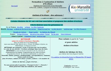 http://sites.univ-provence.fr/wffae/pages/ateliers.htm