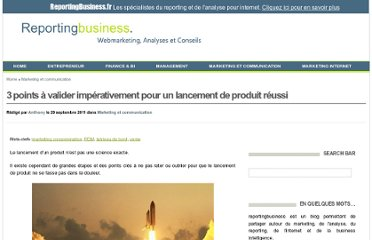 http://www.reportingbusiness.fr/marketing-mix/lancement-produit.html#