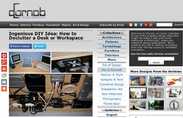 http://dornob.com/ingenious-diy-idea-how-to-declutter-a-desk-or-workspace/