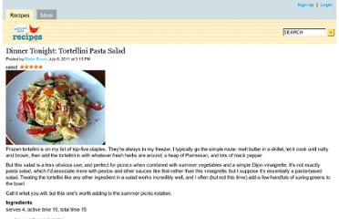 http://mobile.seriouseats.com/recipes/2011/07/tortellini-pasta-salad-recipe.html