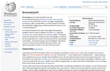 http://de.wikipedia.org/wiki/Kressreport