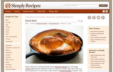 http://www.simplyrecipes.com/recipes/dutch_baby/