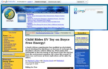 http://pesn.com/2009/11/12/Child_rides_on_free_energy_Boyce_watkykjy1/