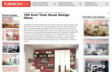 http://www.furnishism.com/100-cool-teen-room-design-ideas/