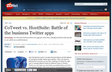http://www.zdnet.com/blog/feeds/cotweet-vs-hootsuite-battle-of-the-business-twitter-apps/2752
