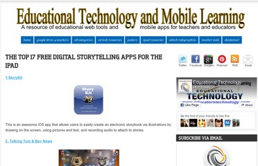 http://www.educatorstechnology.com/2012/07/top-20-free-digital-stotytelling-apps.html