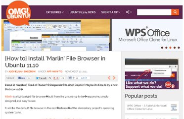 http://www.omgubuntu.co.uk/2011/11/how-to-install-marlin-file-browser-in-ubuntu-11-10