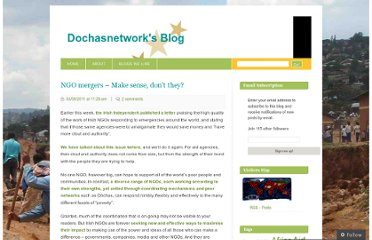 http://dochasnetwork.wordpress.com/2011/09/03/ngo-mergers/