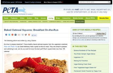 http://www.peta.org/living/vegetarian-living/baked-oatmeal-squares-breakfast-on-the-run.aspx?PageIndex=1
