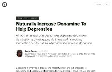 http://suite101.com/article/naturally-boost-dopamine-to-improve-depression-a217976