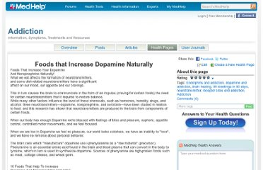 http://www.medhelp.org/tags/health_page/45/Addiction/Foods-that-Increase-Dopamine-Naturally?hp_id=594