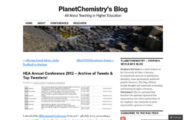 http://planetchemistry.wordpress.com/2012/07/05/hea-annual-conference-2012-archive-of-tweets-top-tweeters/
