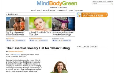 http://www.mindbodygreen.com/0-5353/The-Essential-Grocery-List-for-Clean-Eating.html