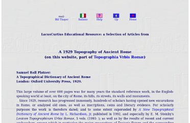 http://penelope.uchicago.edu/thayer/e/gazetteer/places/europe/italy/lazio/roma/rome/_texts/platop*/home*.html