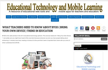 http://www.educatorstechnology.com/2012/07/what-teachers-need-to-know-about-byod.html
