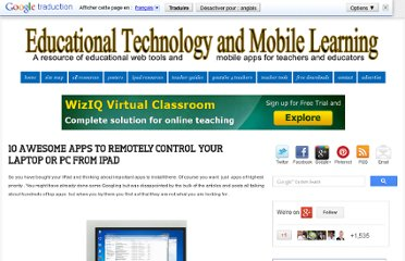 http://www.educatorstechnology.com/2012/07/10-awesome-apps-to-remotely-control.html