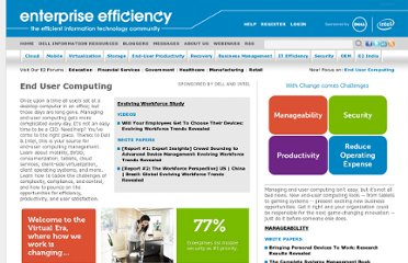 http://www.enterpriseefficiency.com/end-user-computing.asp