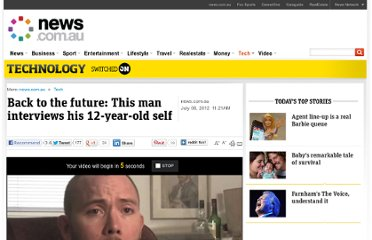 http://www.news.com.au/technology/back-to-the-future-this-man-interviews-his-12-year-old-self/story-e6frfro0-1226418770516