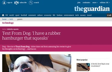 http://www.guardian.co.uk/technology/2012/jul/06/text-from-dog