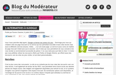http://www.blogdumoderateur.com/5-sites-comme-igoogle/