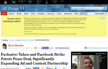 http://allthingsd.com/20120706/exclusive-yahoo-and-facebook-strike-patent-peace-deal-expand-ad-and-content-partnership/